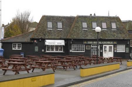 The Royal George pub in Folkestone