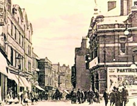 Street scene showing Theatre Royal