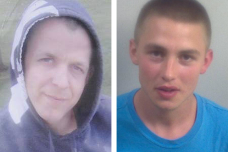 Tommy Presley, right, left has been jailed for stabbing James Green
