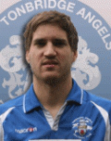 Tonbridge Angels player Mikel Suarez