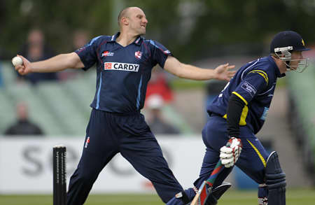 James Tredwell took four wickets