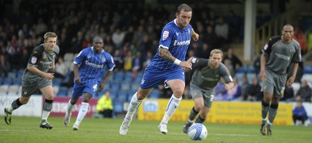 Danny Kedwell converts from the spot against Port Vale.