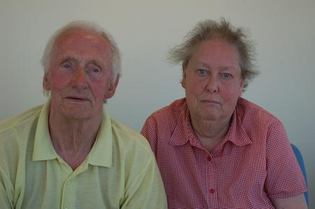 Ian Bartlett and Rosemary Collier have been tagged after admitting stealing from an 86-year-old woman.