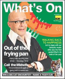Harry Hill stars on this week's What's On cover