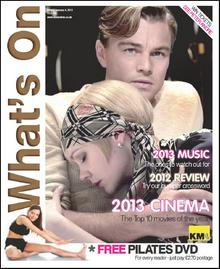 Leonardo DiCaprio and Carey Mulligan star on this week's What's On cover