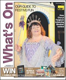 Cheryl Fergison stars on this week's What's On cover