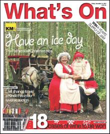 Mother and Father Christmas, at LaplandUK, star on this week's What's On cover