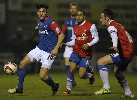 Charlie Allen for Gillingham away to York