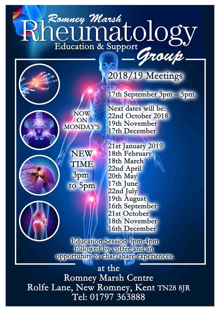 Rheumatology Education and support group